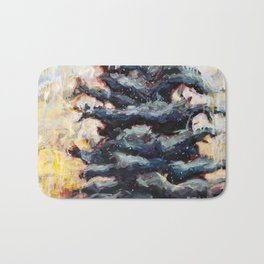 Route to Happiness Tree Bath Mat