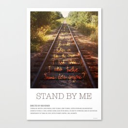 Stand by Me (1986) Canvas Print