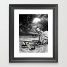 Down and Out Framed Art Print