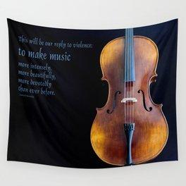 Make Music Wall Tapestry