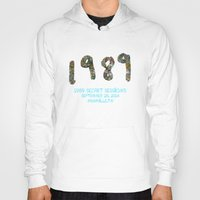 1989 Hoodies featuring 1989 Secret Sessions Anniversary by Alexander Studios