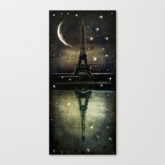 Paris Midnight Canvas Print