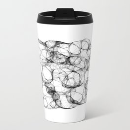 Diamonds Metal Travel Mug