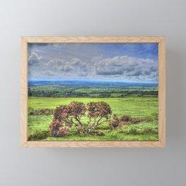 Dartmoor National Park Devon Framed Mini Art Print