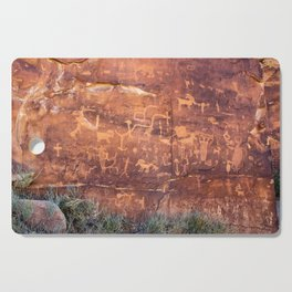 Ancient Rock_Art Panel 0619 - Utah Cutting Board