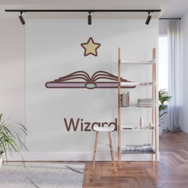 Cute Dungeons and Dragons Wizard class Wall Mural