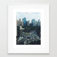 philippines Framed Art Prints featuring Manila, Philippines  by Pan Kelvin
