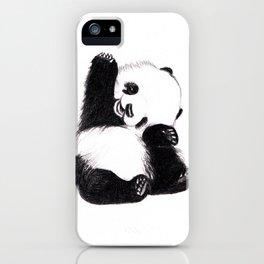 baby panda iPhone Case