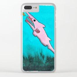 Goblin Shark! Clear iPhone Case