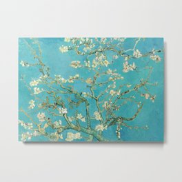 Almond Blossom by Vincent van Gogh, 1890 Metal Print