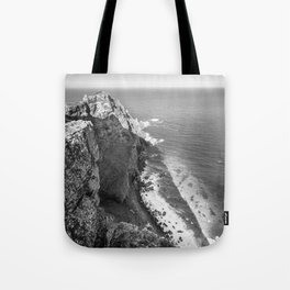 Cliffs along Cape Point, South Africa Tote Bag