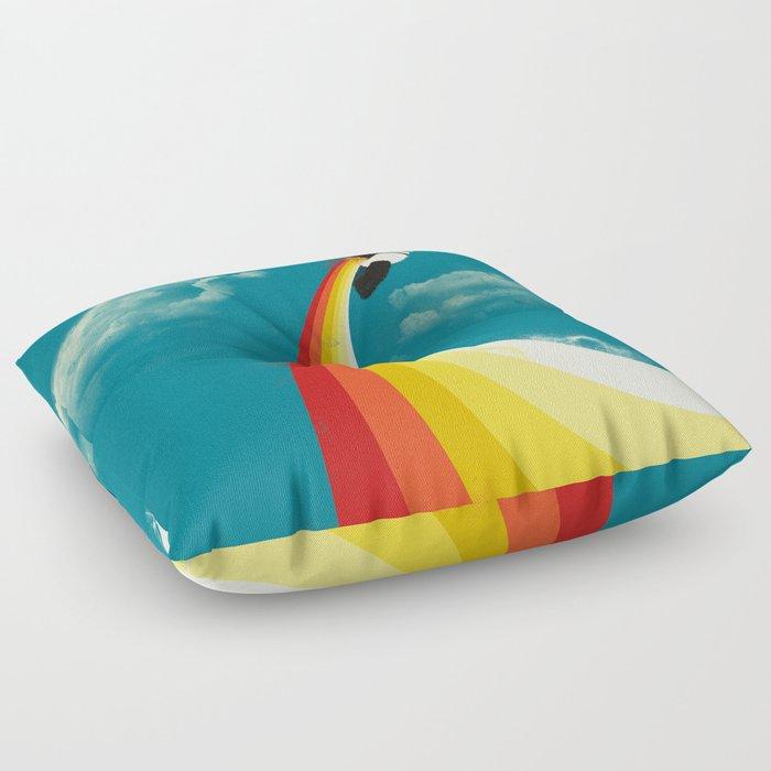 Panda Express Floor Pillow by jayfleck