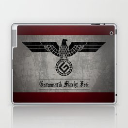 Grammar Nazi Laptop & iPad Skin