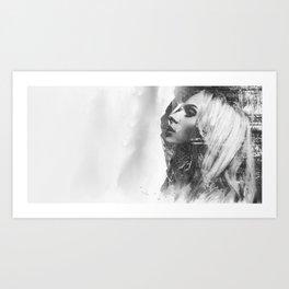 Mountain Lady Art Print