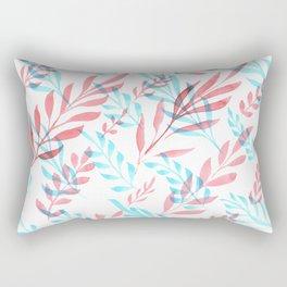 Blue Red II Rectangular Pillow