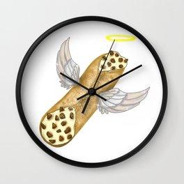Holy Cannoli - Yummy Yummy Halo Wings Chocolate Wall Clock