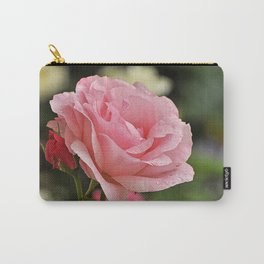Pink wet rose Carry-All Pouch