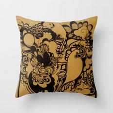 Explosion  Throw Pillow