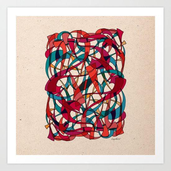 - dance - Art Print