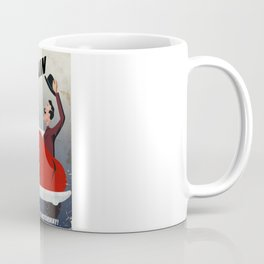 Vintage British car travel poster Coffee Mug