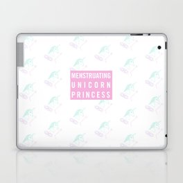 Menstruating Unicorn Princess Laptop & iPad Skin