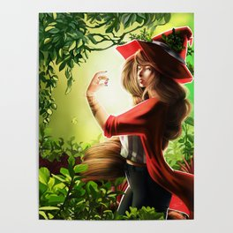 Spring Witch Poster