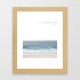 Beach dream Framed Art Print
