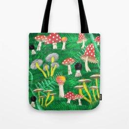 Mushroom Party Tote Bag