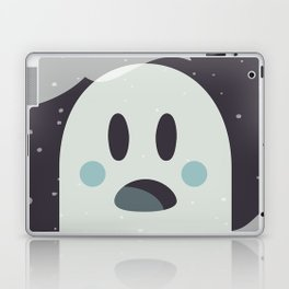 Surprised Ghosty Laptop & iPad Skin