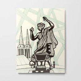 Berlin - Muse of History Metal Print