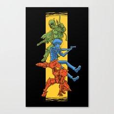 Universe Mighties Bounty Hunters Canvas Print