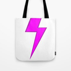 Lightning doesn't strike twice Tote Bag