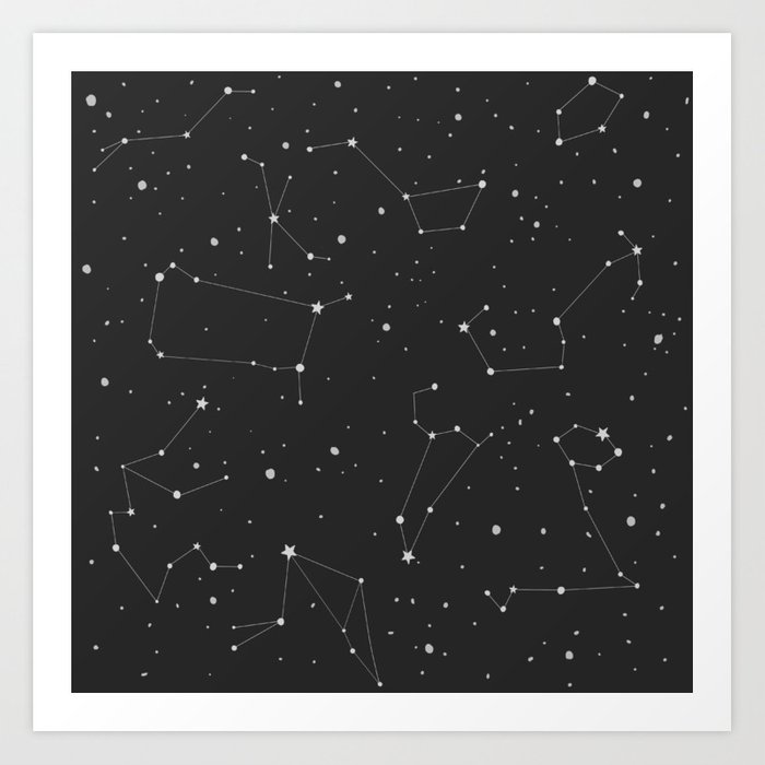 Constellations Art Print by Society6