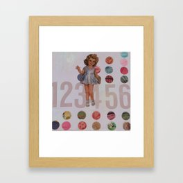 lilac 123456 Framed Art Print