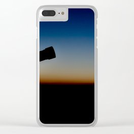 Viewing. Clear iPhone Case