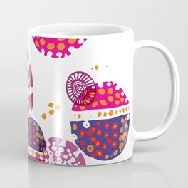Micro pink and ultra violet composition Coffee Mug