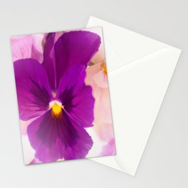 Flower Bouquet in Purple and Pink Colors  #decor #society6 #buyart Stationery Cards