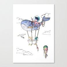 On Adventure! Canvas Print