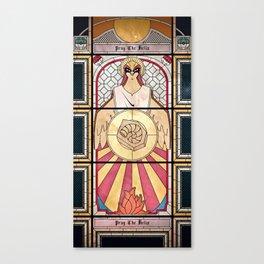 Pray the Helix Canvas Print
