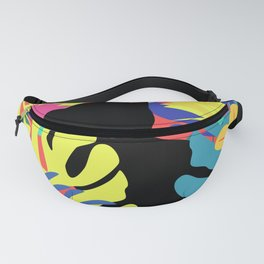 Tropical cat Fanny Pack