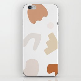Abstract Shape Series - Autumn Color Study iPhone Skin