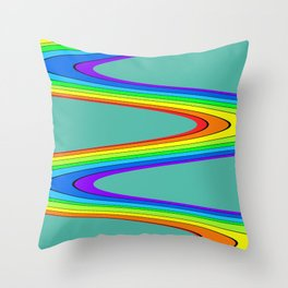Dorthy Road Throw Pillow