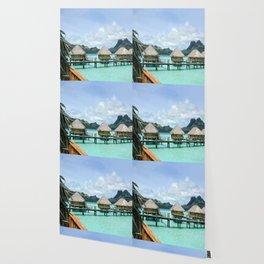 Tahitian Paradise View Wallpaper