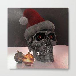 T-Xmas (The Christmasnator) Metal Print