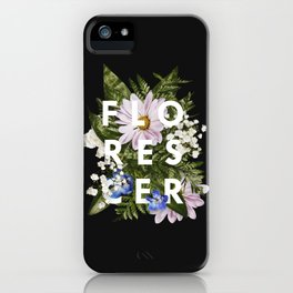 Florescer iPhone Case