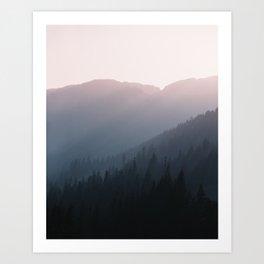 The Wilderness Awaits Art Print