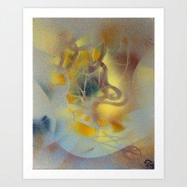 Uji Studies in Being-Time #1 Art Print