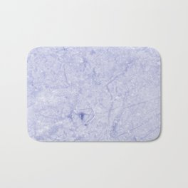 Ice Blue Marble Bath Mat