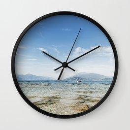 Garda lake Wall Clock