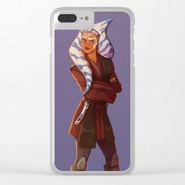 Jedi Ahsoka Clear iPhone Case